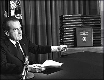 Nixon Addresses The Nation